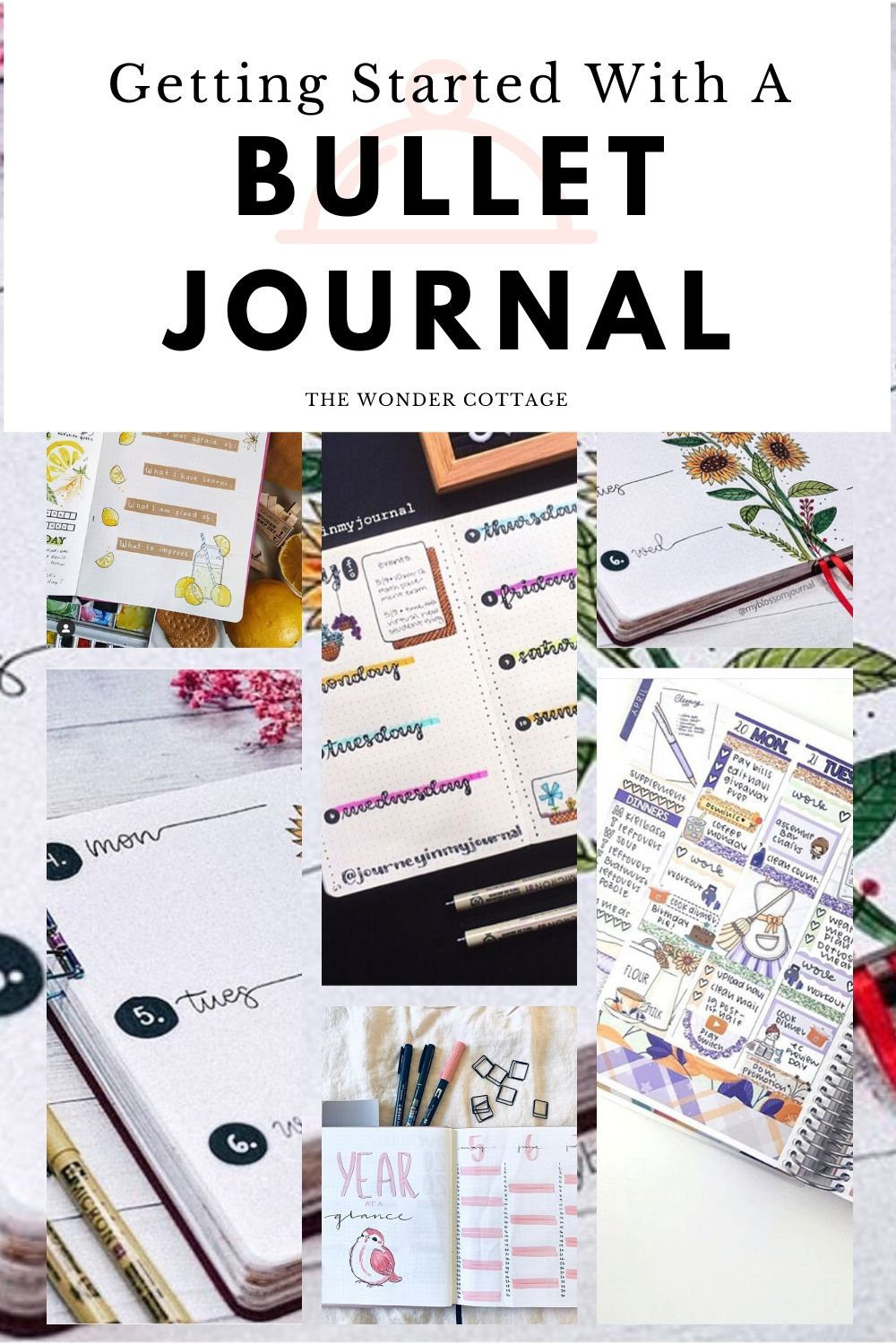 Getting started with bullet journal