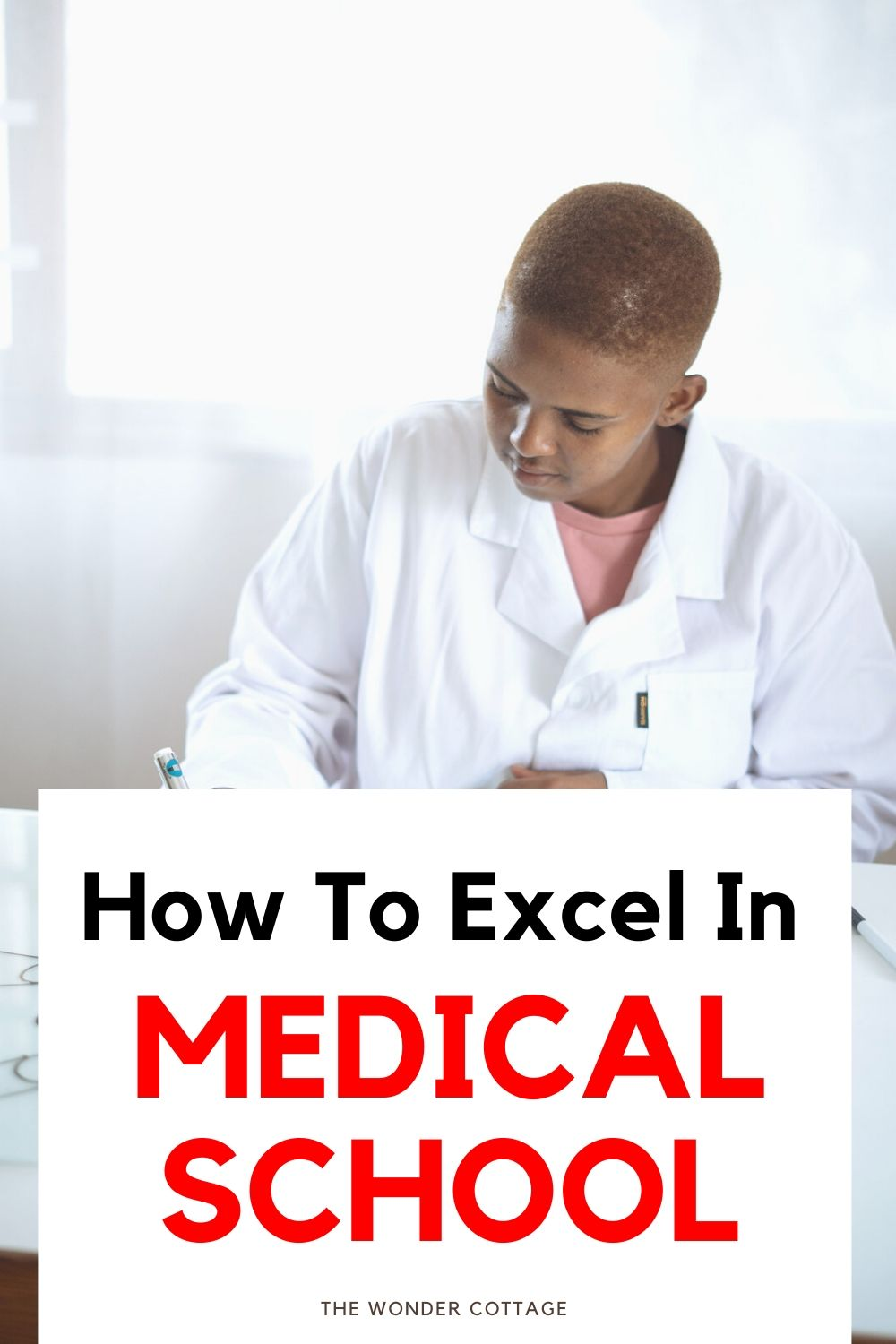 how to excel in medical shool