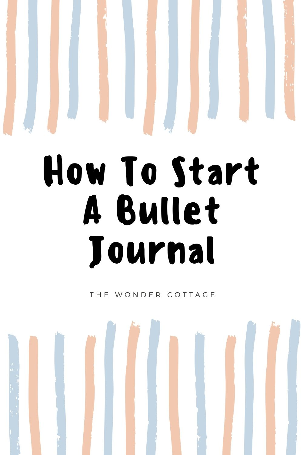 Get started with bullet journalling