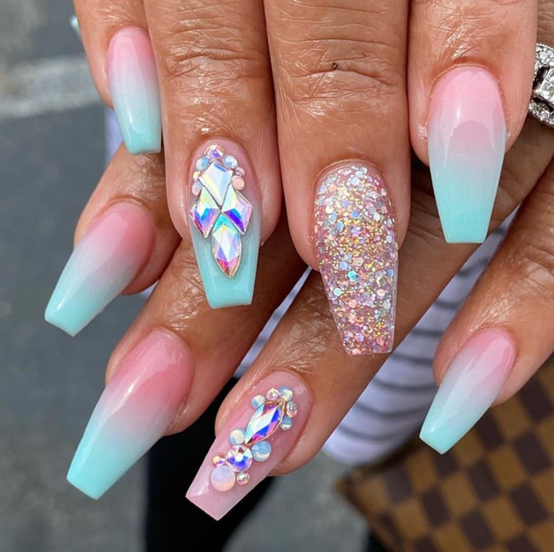ombre nail designs