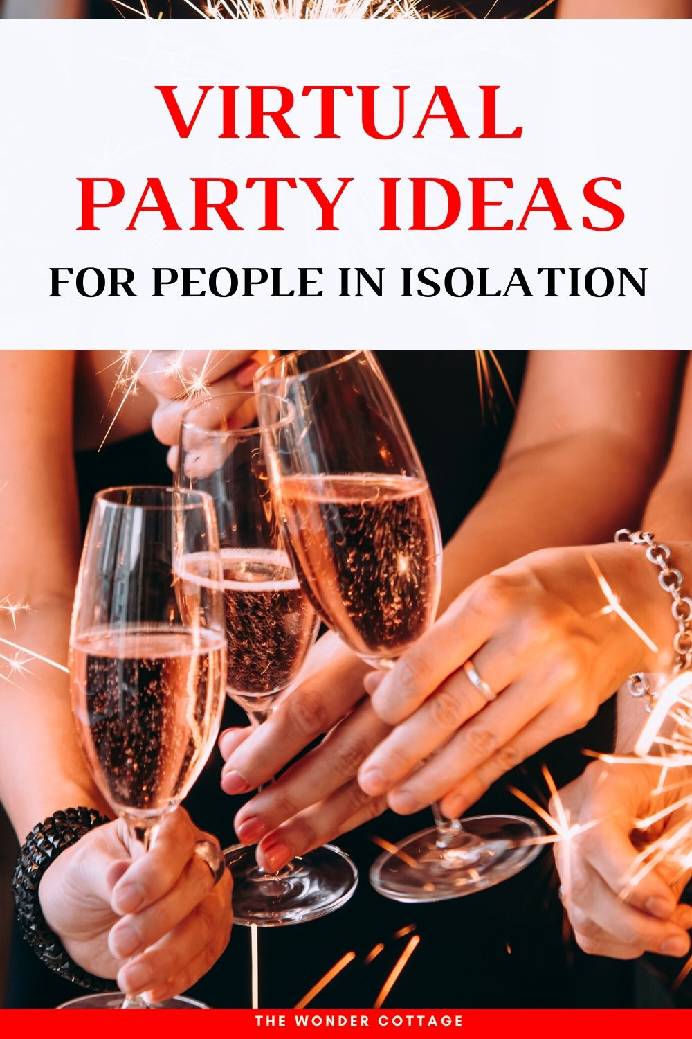 virtual party ideas for people in isolation