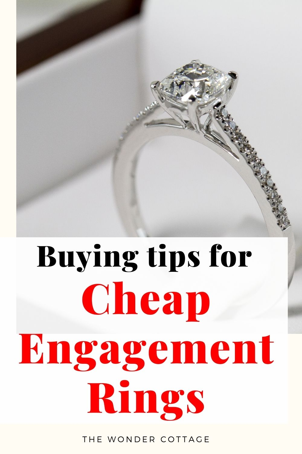 buying tips for cheap engagement ring