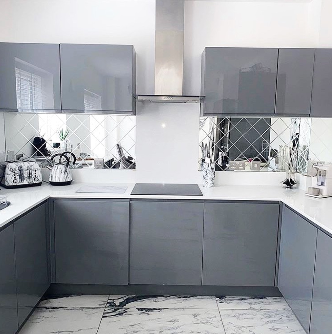 grey kitchen design