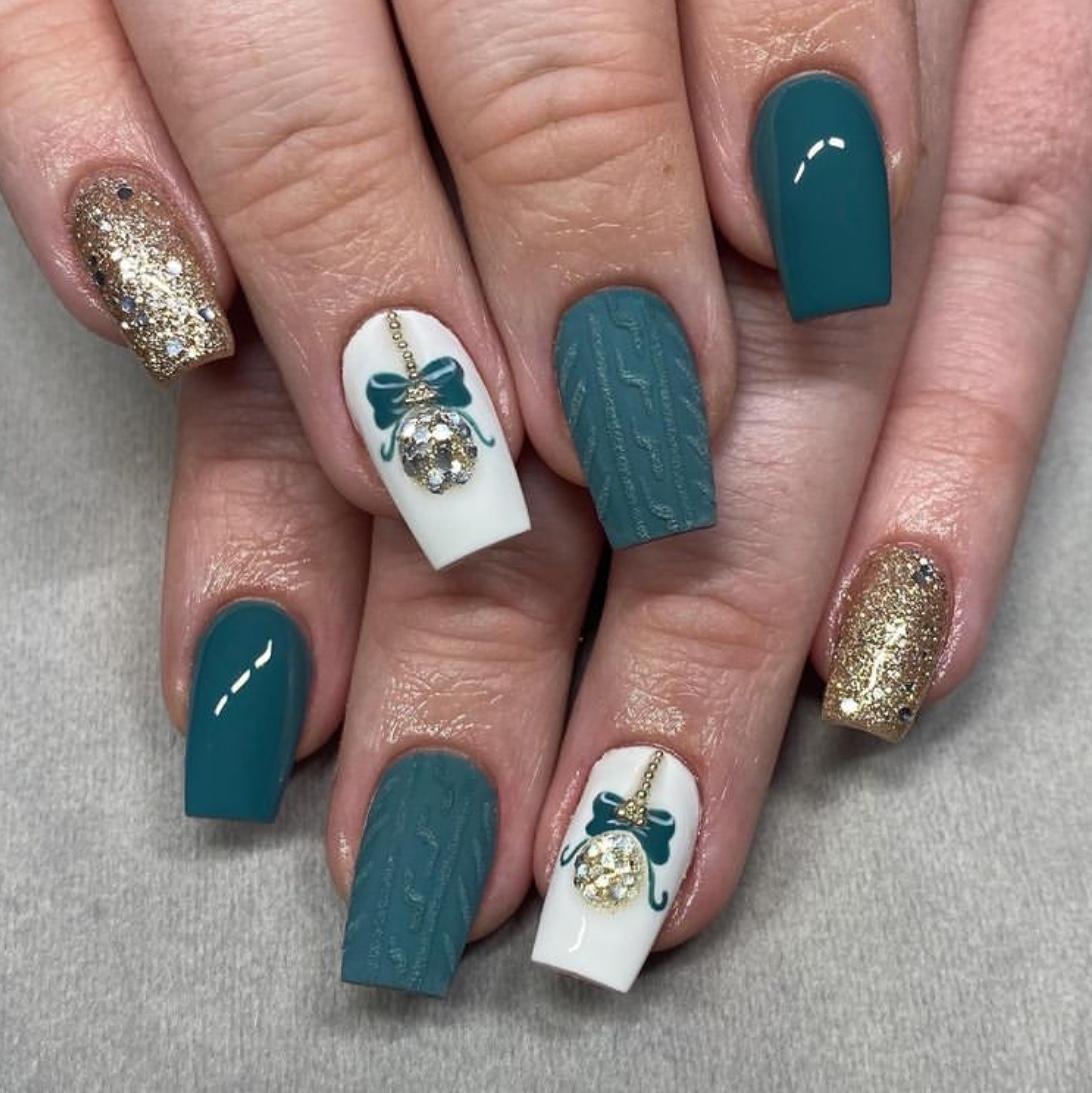 Christmas nails,
