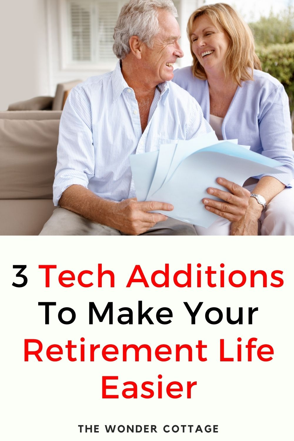 3 tech additions to make retirement life easier