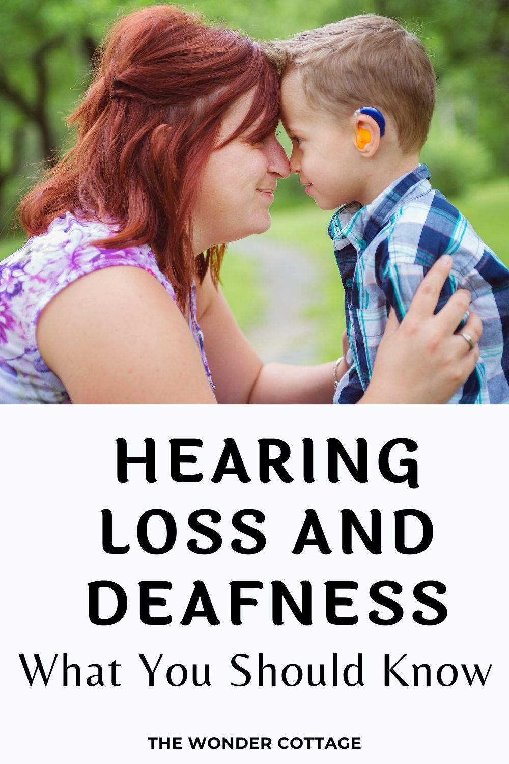 hearing loss and deafness