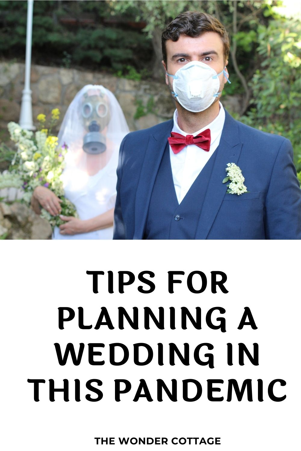 tips for planning a wedding in this pandemic