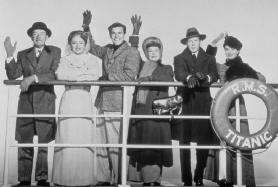Titanic 1954 disaster movie cast