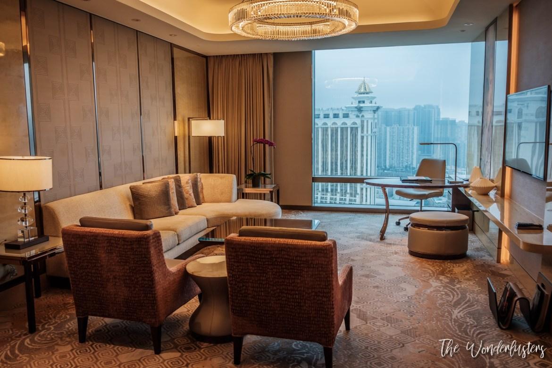 Our Living Room at JW Marriott Hotel Macau