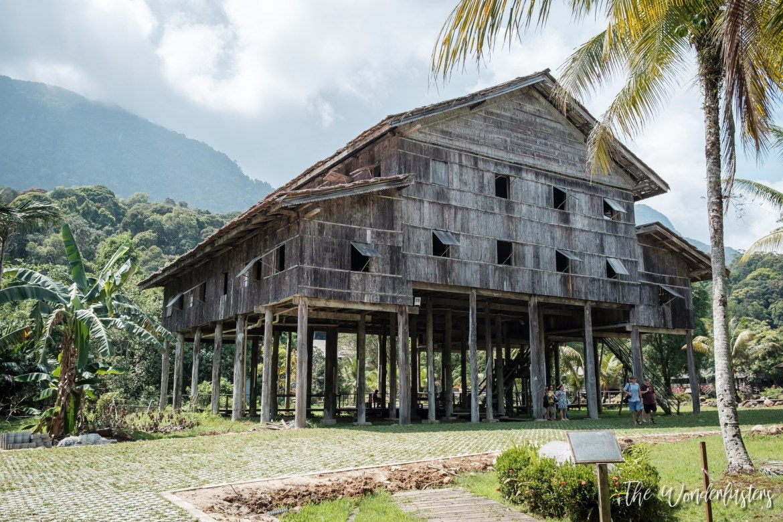 Sarawak Cultural Village Longhouse