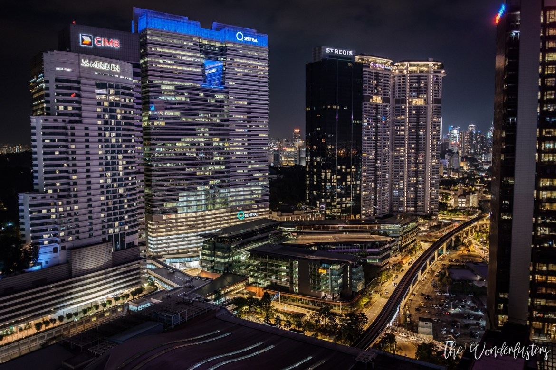 View from Aloft Kuala Lumpur Sentral
