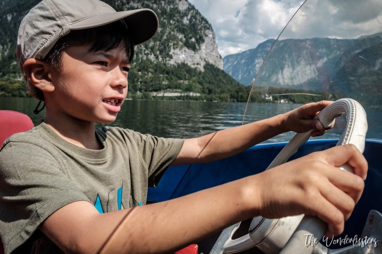 Boat Tour on Hallstatt Lake