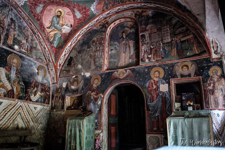 The cave of St. Ivan Rilski Church