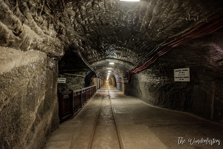 Wieliczka Mines Tunnel