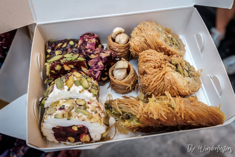 Baklavas and Turkish Delights