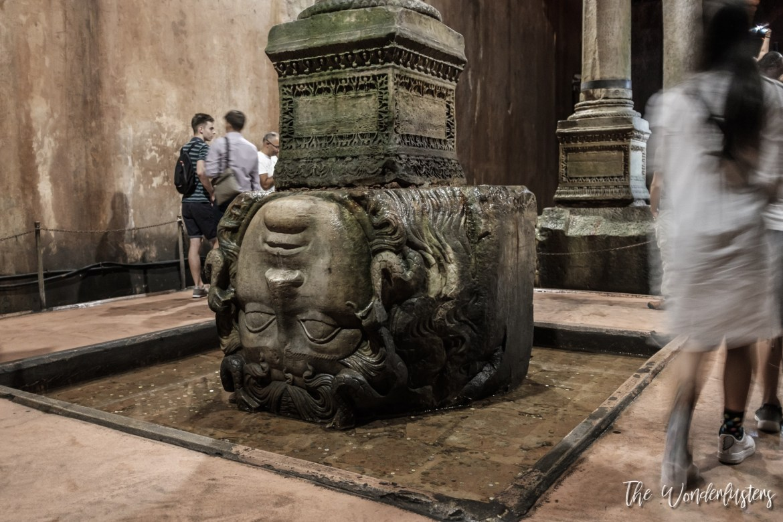 Basilica Cistern Medusa