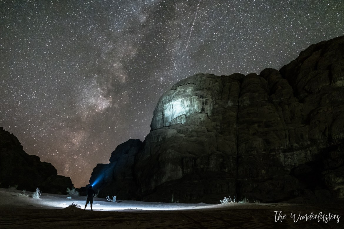 Starry Night at Wadi Rum