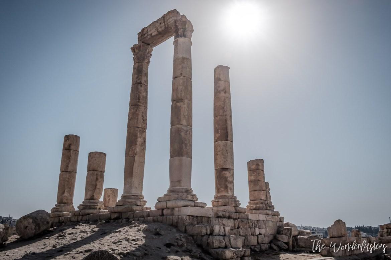 Temple of Hercules - Amman Citadelle
