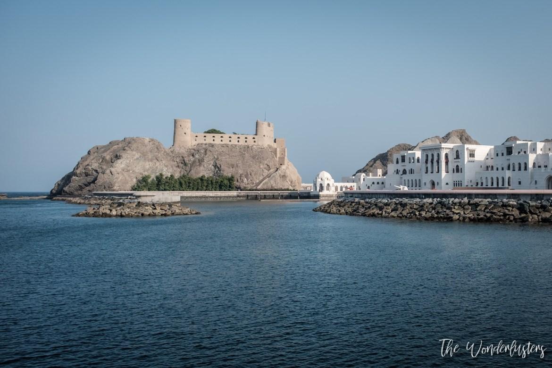 Al Jalali Fort, Muscat
