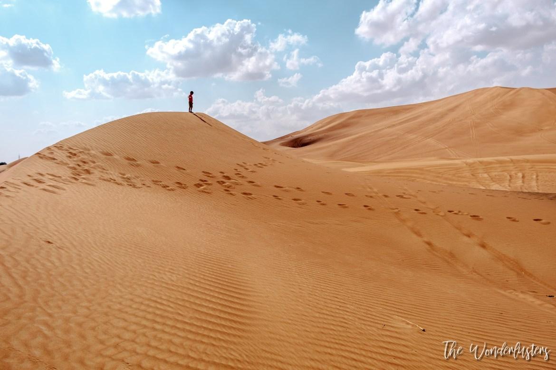 Sand Dunes at Al Yahar
