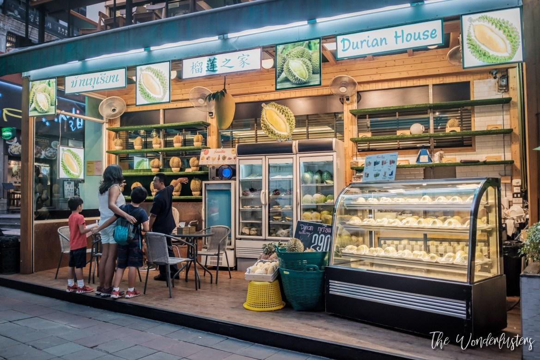 A Durian Shop