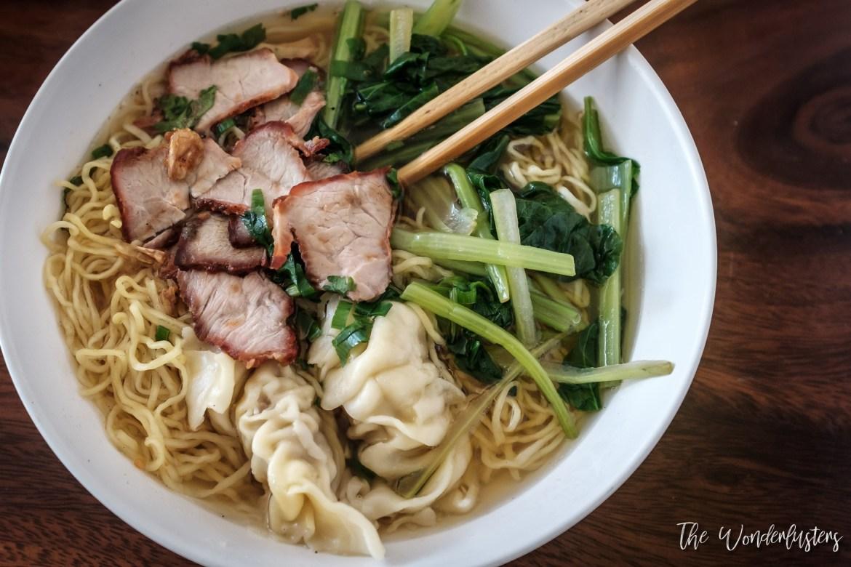 A Noodle Dish