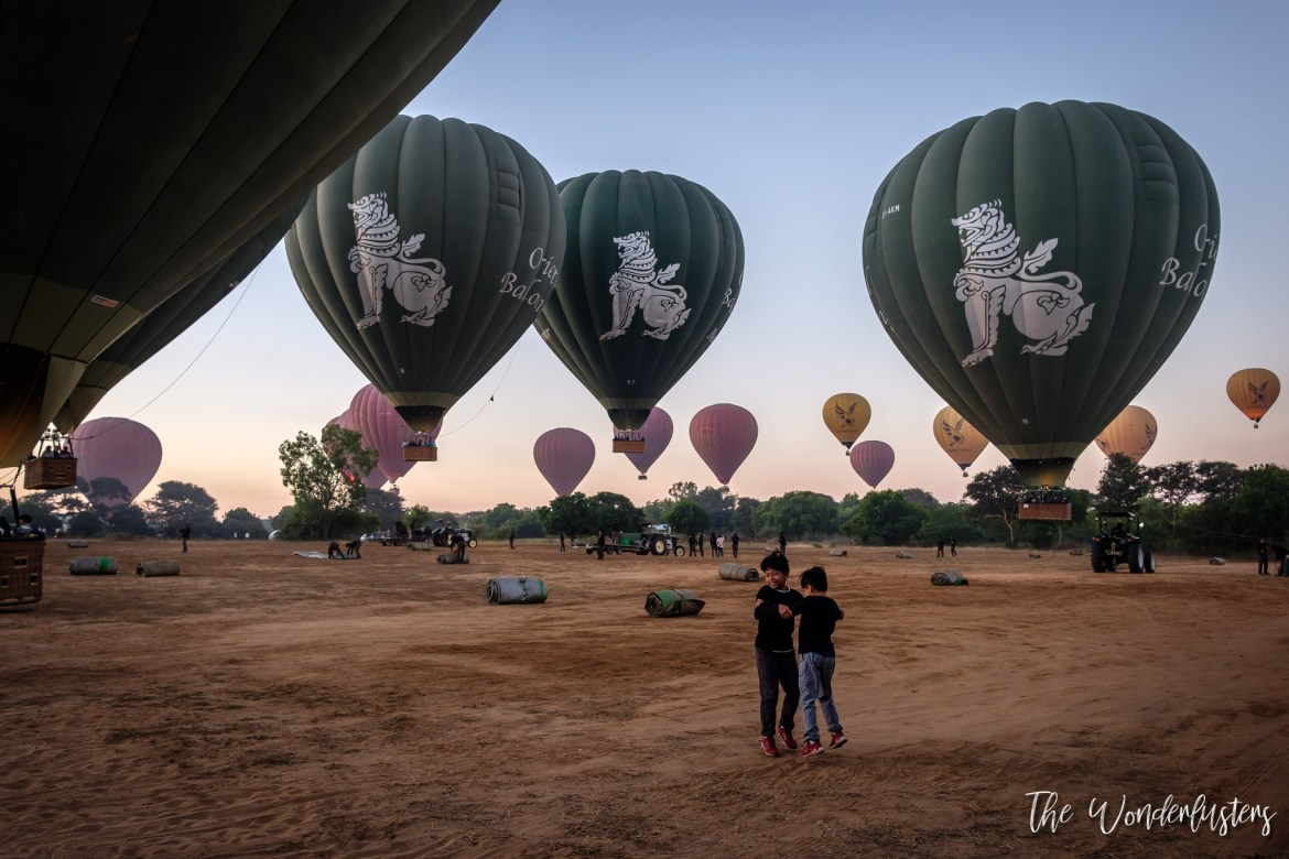 Bagan Hot Air Balloons