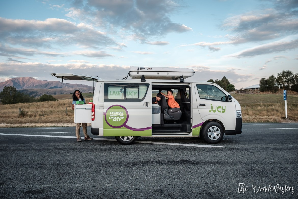 Campervan for the South Island