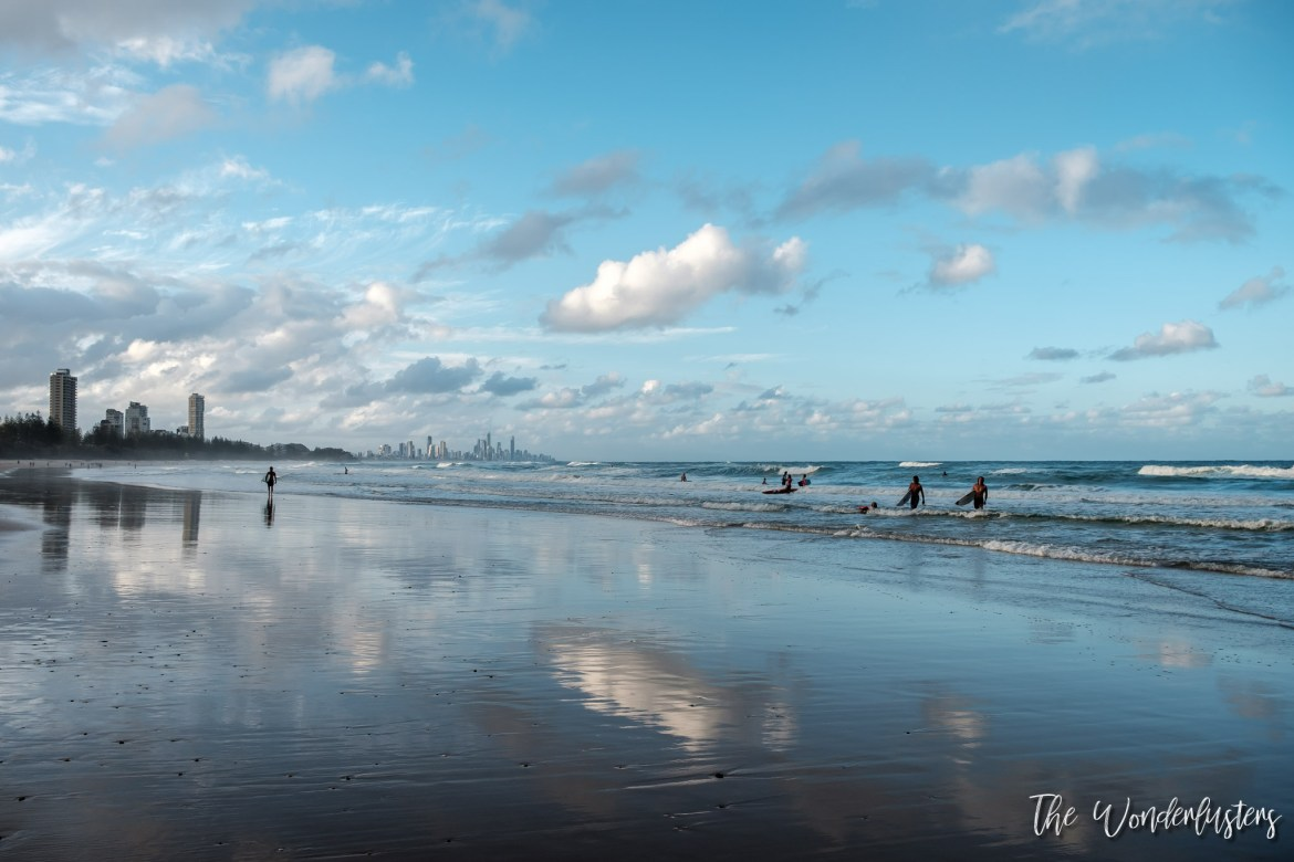 Gold Coast Skyline from Burleigh Head
