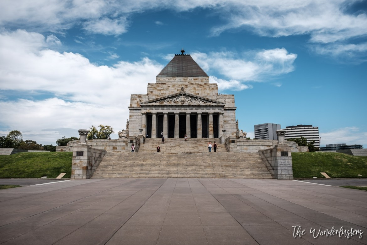 Shrine of Remembrance - Melbourne