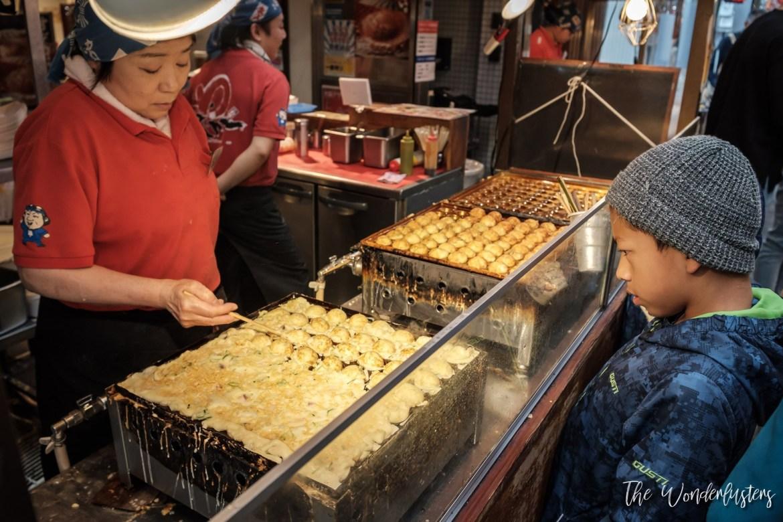 Takoyaki Wanaka at Kuromon Ichiba Market
