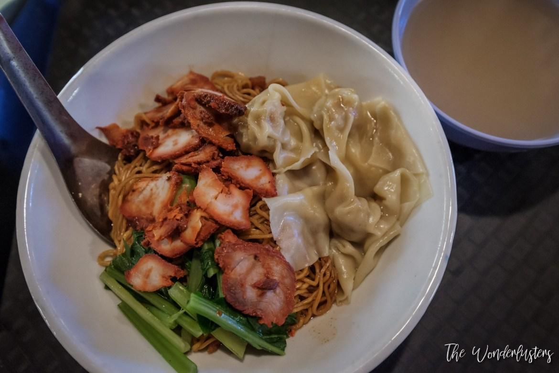 Wonton Noodle and Char Siu