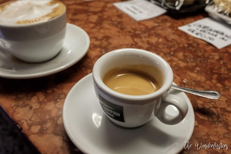 Espresso and Capuccino