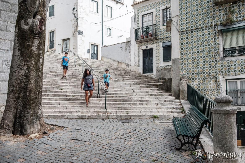 Lisbon Alfama Neighborhood
