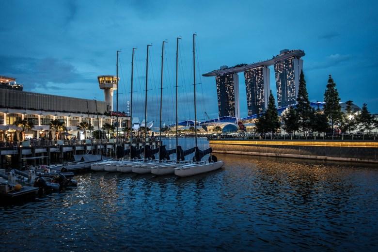Singapore Marina Bay 21