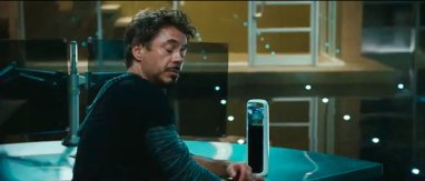 Tony Stark's water bottle