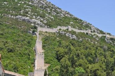 La plus grande muraille d'europe en croatie