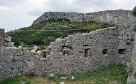 Klis en Croatie, décor game of thrones