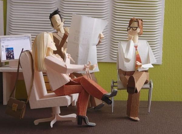Awesomely Creative Paper Artworks   The Wondrous Design Magazine