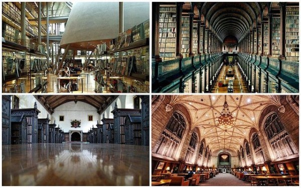 Top 10 Most Beautiful College Libraries in the World