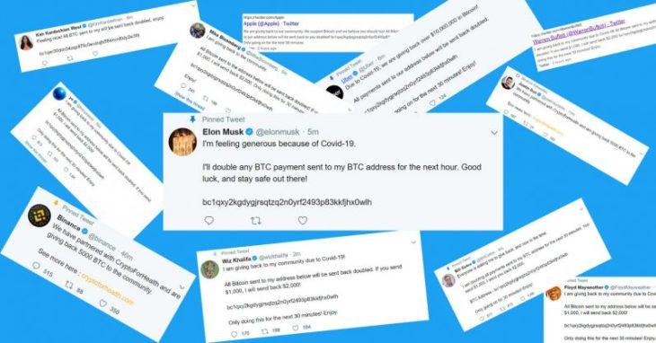 twitter account hacked bitcoin