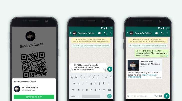 WhatsApp Business Blog catalogue sharing