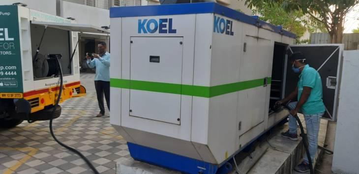 door to door diesel delivery