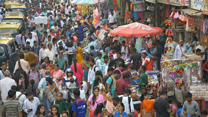 india population overtake china
