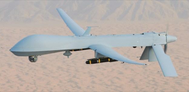 Indian Navy predator drones