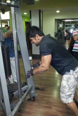 Abhinav Mishra, reminiscing his gym days. He misses them.