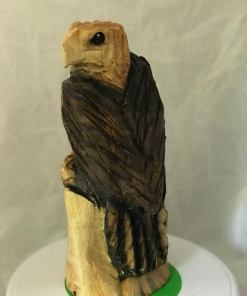 1ft Eagle Chainsaw Carving
