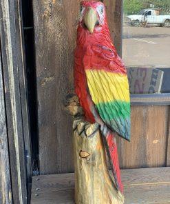 Wooden Parrot