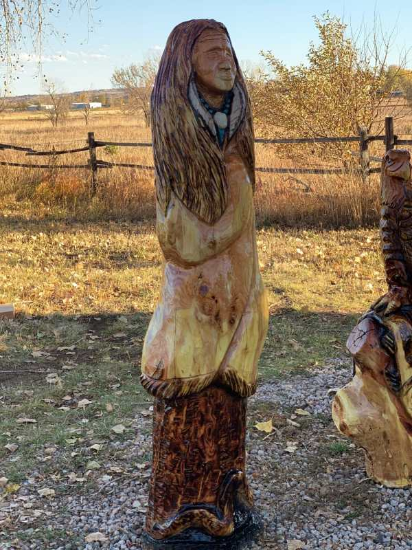 indian chainsaw carving