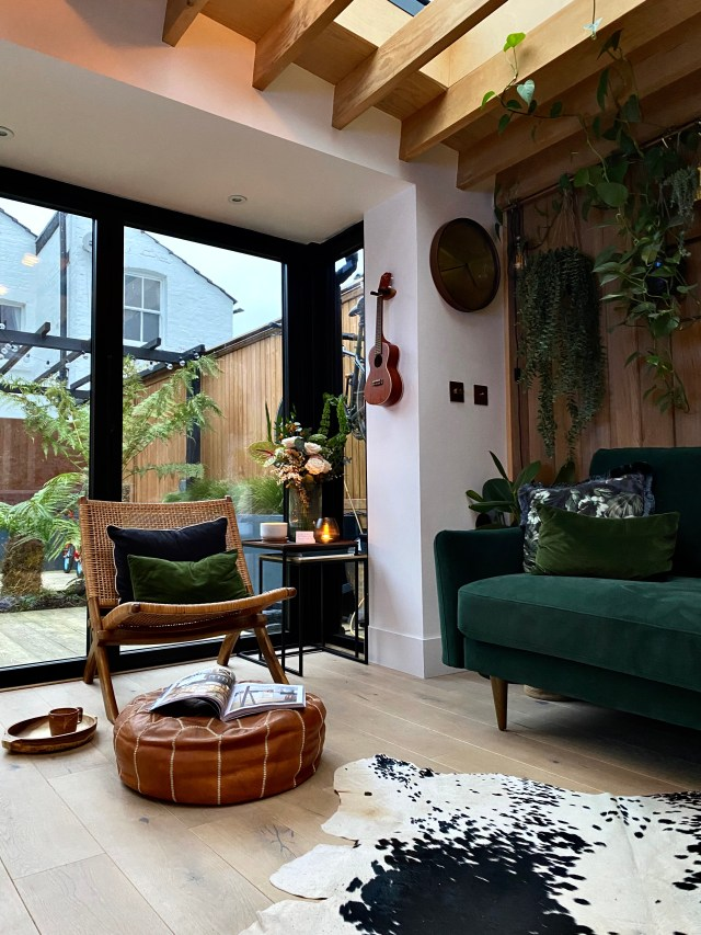 Biophilia in the home.